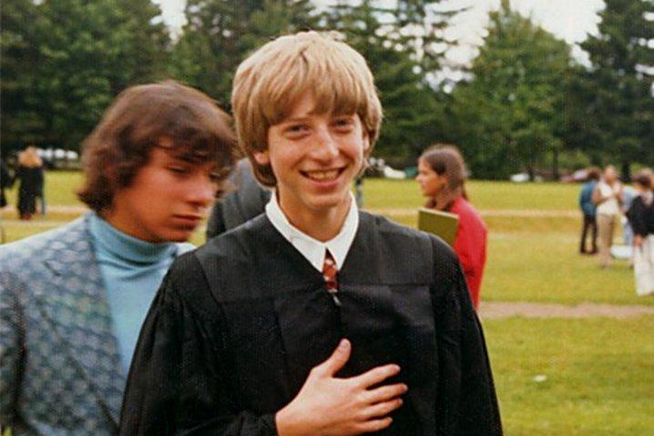 Bill Gates y Paul Allen hackearon el ordenador del instituto para ligar