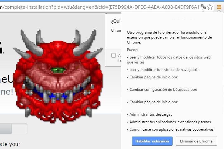 No uses las extensiones de los antimalware si aprecias tu seguridad