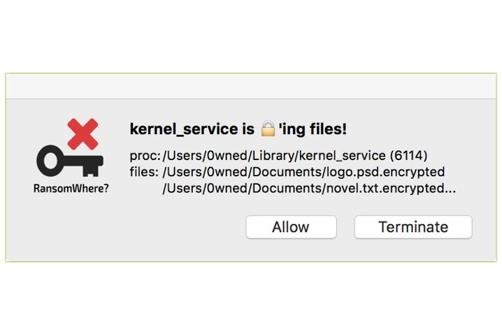 Aparece una herramienta para detectar ransomware en Mac OS X, RansomWhere?