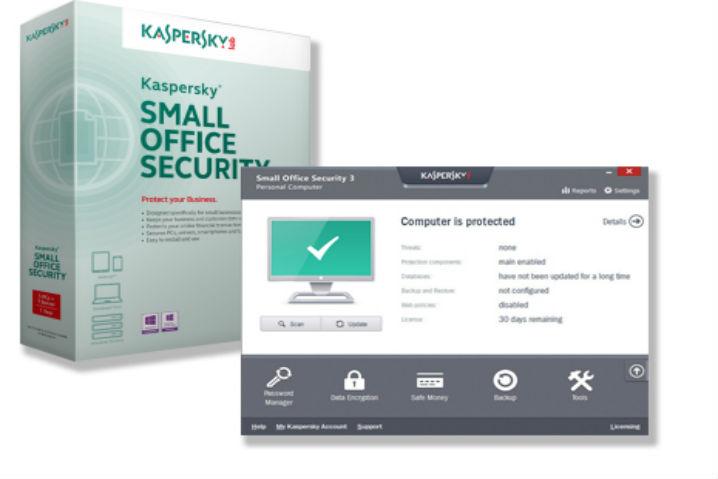 Kaspersky presenta la última versión de Small Office Security 49