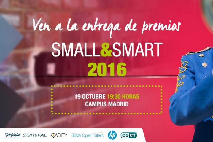 Small&Smart 2016, ¡consigue una entrada para el mejor evento emprendedor!