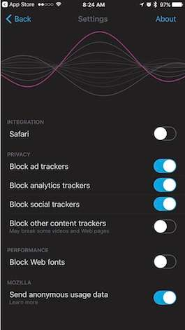 Lo que realmente hay sobre la recolección de datos en Firefox para iOS