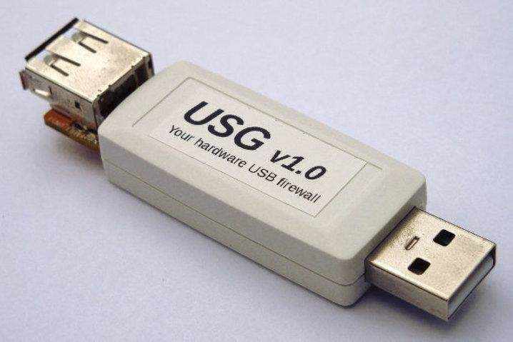 USG, un firewall para dispositivos USB