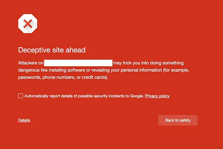 Google está poniendo en lista negra sitios web recientes que no usan HTTPS