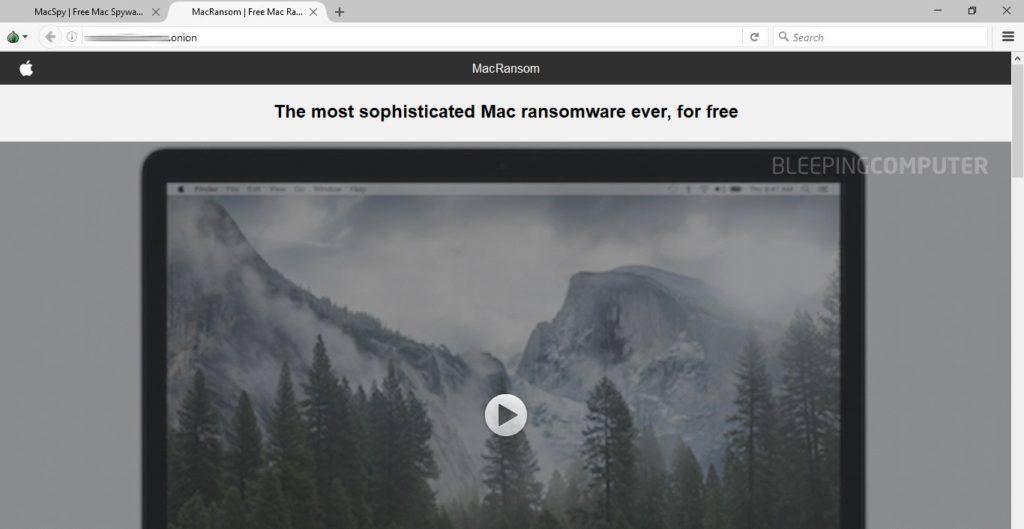 Portal de MacRansom