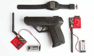 Consiguen hackear un arma inteligente y segura de 1.500 dólares con imanes de 15 dólares