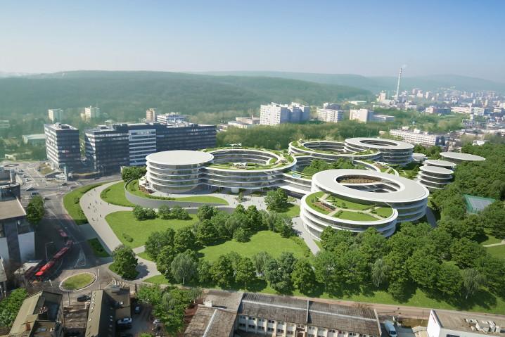 La futura sede de ESET en Eslovaquia será un enorme campus de ciberseguridad e I+D