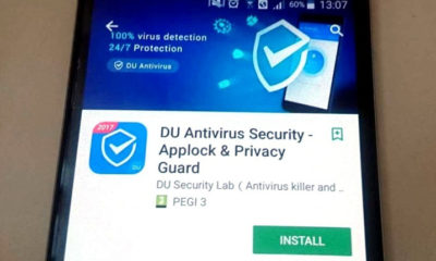 Un popular antivirus chino para Android, DU Antivirus Security, ha estado recolectando datos de forma ilegítima