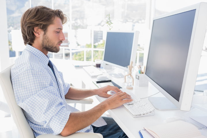 Escribiendo sobre una interfaz web
