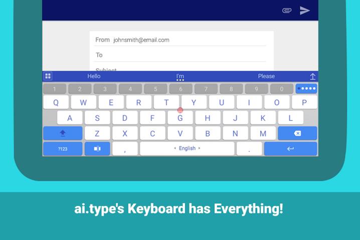 Filtran la información personal de 31 millones de usuarios del teclado virtual Ai.type