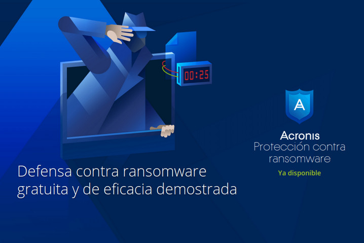 Acronis Ransomware Protection protege del ransomware en tiempo real