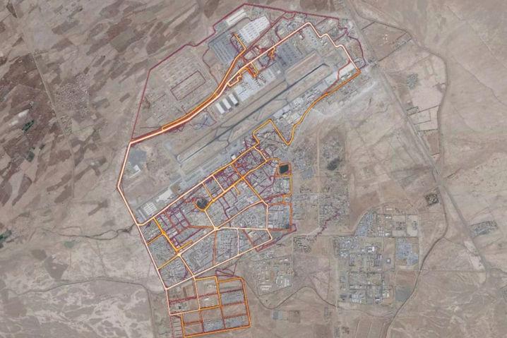 La aplicación Strava ha podido delatar ubicaciones de bases militares