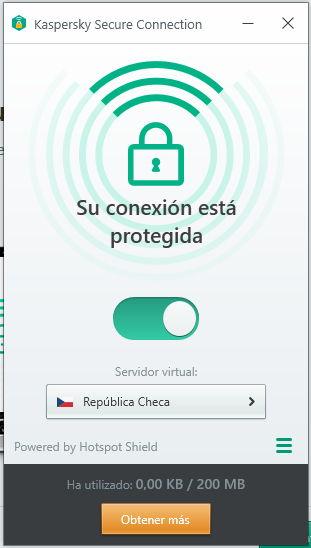 VPN Kaspersky Free Antivirus