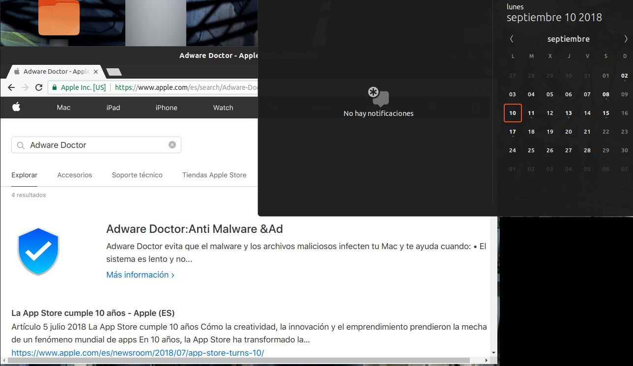 Adware Doctor disponible en la App Store de Apple