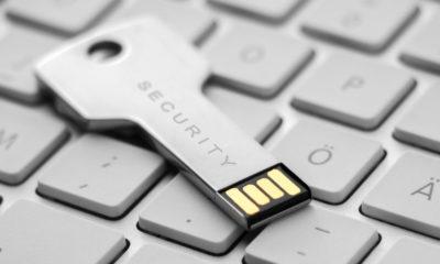 llaves de seguridad de Google