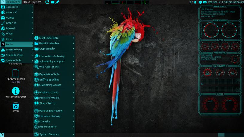Parrot OS 4.6: nueva versión de una de las mejores distribuciones de hacking ético 47