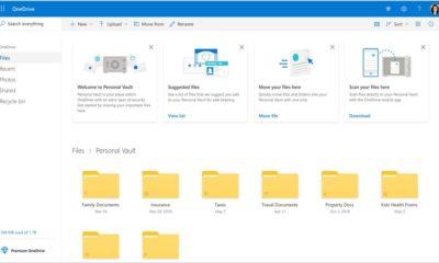 OneDrive Personal Vault: más protección para tus archivos on-line 60