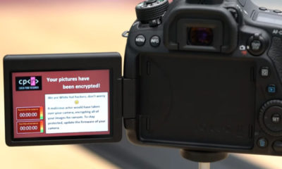 El Ransomware ataca también a las cámaras DSLR de Canon y otras 70