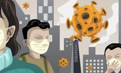 mapas falsos del coronavirus
