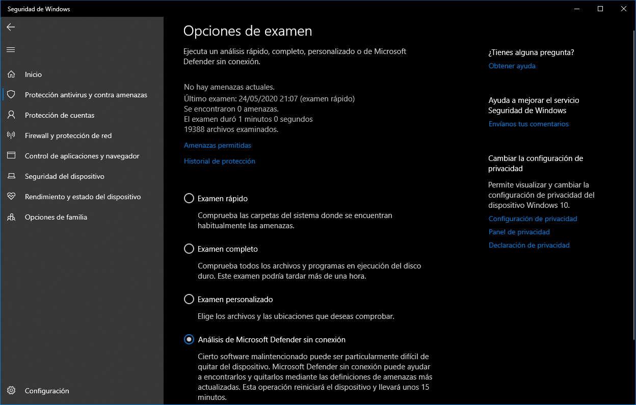 Cómo utilizar Windows Defender Offline contra el malware 51
