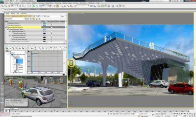 Autodesk 3ds Max, empleado para el espionaje industrial
