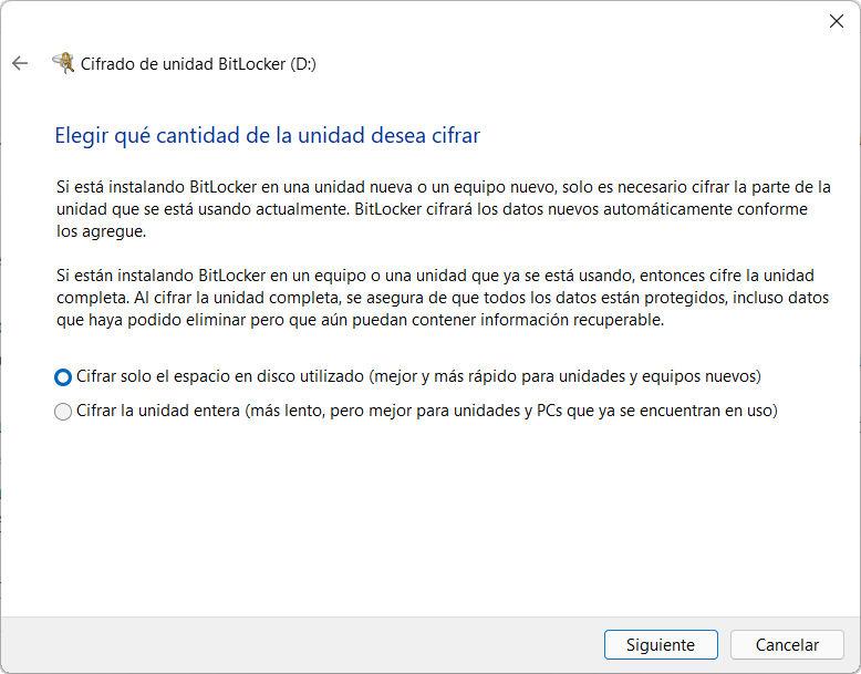 Cómo activar BitLocker en Windows 11 56