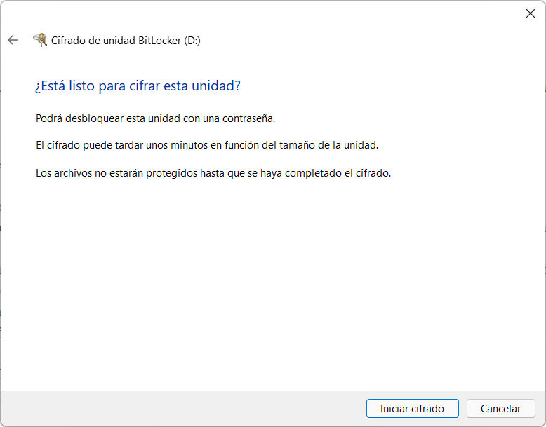 Cómo activar BitLocker en Windows 11 60