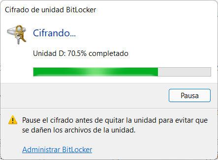 Cómo activar BitLocker en Windows 11 62