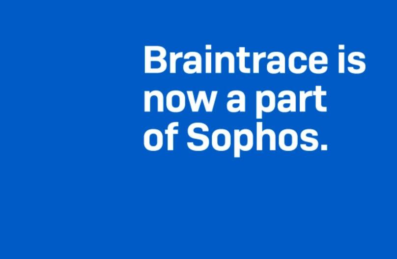 Sophos adquiere Braintrace