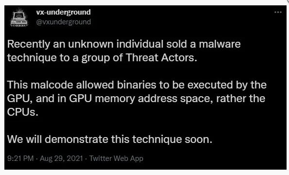 Los ciberdelincuentes venden herramientas para ocultar malware en GPUs de AMD y NVIDIA 49